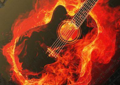 Edgy Guitar Intro Cue